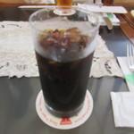 コーヒーパーラー ヒルトップ - アイスコーヒー(水出し)