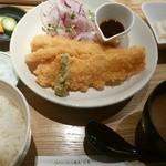 浅野屋 - イカフライ定食