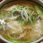41460846 - 笑龍海老ワンタン麺