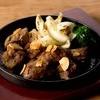 オリオンビアホール - 料理写真:牛サイコロのガーリックステーキ<ライス・スープ付き>