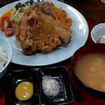 正和食堂 - 料理写真:山賊焼き中