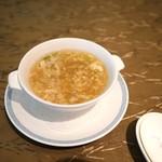 グランドプリンスホテル京都 中国料理 桃園 - 今週のスープ