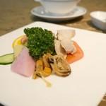 グランドプリンスホテル京都 中国料理 桃園 - 前菜の盛り合わせ