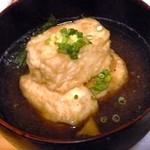 小料理屋ぎらばり - 揚げ出し豆腐
