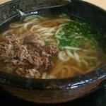 壱 - 肉うどん[\500]