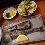 お菜処 ゆう - 新さんま汐焼