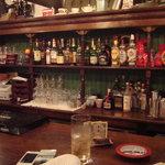 Irish Pub Sam's - カウンター席