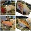 たく海 - 料理写真:◆上にぎり・・ネタの説明がないので間違っていたらゴメンナサイm(__)m *「赤身」「サーモン」「鯛」「穴子」「海老」