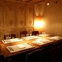 完全個室が接待や商談などビジネスシーン、デートに最適