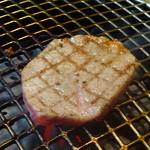 焼肉の龍園 - 熟成肉(シャトーブリアン)は、勿論レアーで仕上げます♡