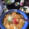 味の民芸 - 料理写真:黒酢酢辣スープうどん