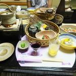角の坊 - 夕食の始まり