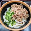 植田うどん - 料理写真:肉ぶっかけ冷