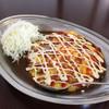 インデアンカレー - 料理写真:野菜玉子カレーM(670円)