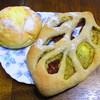ヴェルデレガーロ - 料理写真:コーンパン、チーズのパン
