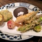 成冨 - 夏野菜天せいろ(1600円)