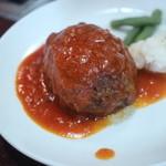焼肉 京城 - 松坂牛ハンバーグ