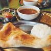 バンヤン - 料理写真:平日ランチセット カレーはマトン