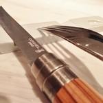 41606859 - 切れがいいオピネルのナイフ
