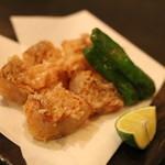 日本の酒 シフク - 料理写真:グジの花咲揚げ