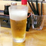 讃岐ロック - 生ビール (500円) '15 8月中旬