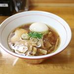 讃岐ロック - 支那そば 醤油 + 玉子 (750+100円) '15 8月中旬