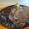 ステーキのどん - 料理写真:サーロインステーキとどんハンバーグ。