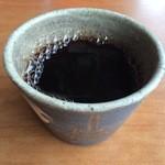 鍋屋 - 食後のドリップコーヒー