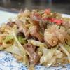 お好み焼き くいしん坊 - 料理写真:ホルモンうどん(ホルモン増量)