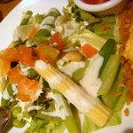 Vinoteca PANCHO'S - 寄り道セットのサラダ