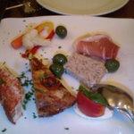 4164611 - ディナーで頼んだ前菜です。