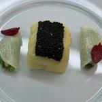 ロオジエ - 甘鯛のヴァプール、キャビア添え、かぶのラメル