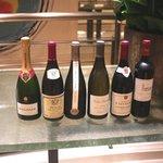 ロオジエ - 当日飲んだシャンパーニュとワイン