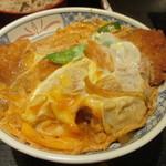 そば処仙波 - カツ丼(アップ)