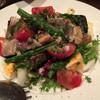 ビストロヤナギハラ - 料理写真:真鯖の燻製ソテー サラダ仕立て