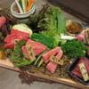 菜好牛 - 料理写真:鮮菜・塩焼・一品・熟成肉