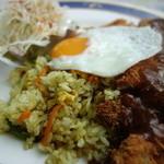 物豆奇 五番館 - 料理写真:トルコライス¥1,000-