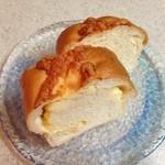 クーズコンセルボ - 料理写真:中には四角いチーズがゴロゴロ入っています