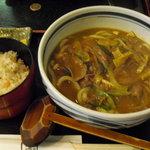 うどんの四國 - 牛肉カレーうどん定食