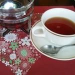 サンマルク - セットの紅茶
