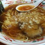 吾衛門 - 甘めのスープは、優しい風味が広がります(^ ^)