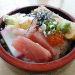 宇多美寿司 - 100607四点盛り