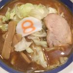 8番らーめん - 野菜ラーメン☆味噌 フジテレビ?