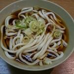都そば - かけうどん(300円)