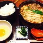 41725829 - すき焼き定食♪