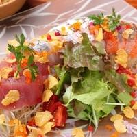 鮮魚のチャイニーズサラダ