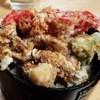 食事処 館 - 料理写真:名物「げそ丼」※大盛とかではありません。