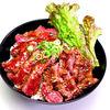 レッドロック - 料理写真:ステーキ丼(大盛)