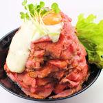 レッド ロック - ローストビーフ丼(大盛)