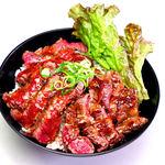 レッド ロック - ステーキ丼(大盛)